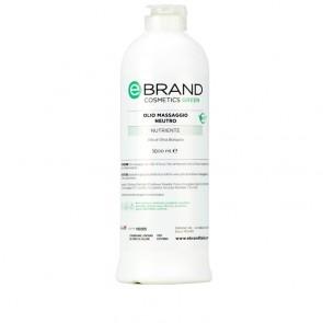 Olio Massaggio Neutro - Ebrand Green - Flacone 1000 ml