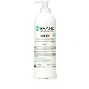 Olio dopo Cera Rinfrescante - Ebrand Green - Flacone 500 ml