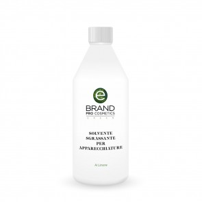 Solvente Naturale Rimuovi Cera per Apparecchiature al Limonene, Ebrand Pro Cosmetics, Flacone 500 ml