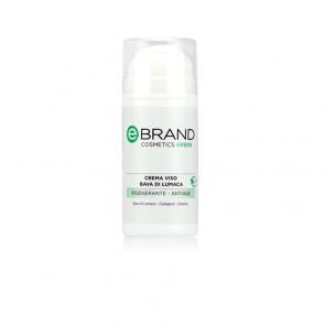 Crema Viso Rigenerante Anti Age alla Bava di Lumaca - Ebrand Green - Flacone 100 ml