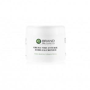 Crema Viso Idratante Anti Age Acido Ialuronico Vaso 250 ml.