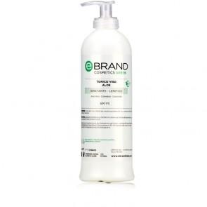 Tonico Viso Lenitivo - Ebrand Green - Flacone 500 ml