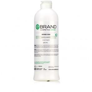 Scrub Gel Viso - Ebrand Green - Flacone 500 ml.