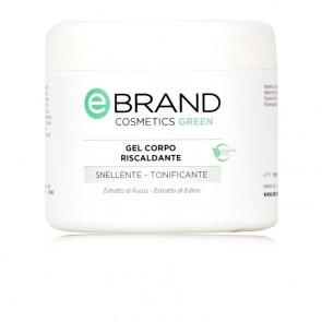 Gel Corpo Caldo Riscaldante (Fucus - Edera) - Ebrand Green -  Vaso 500 ml.