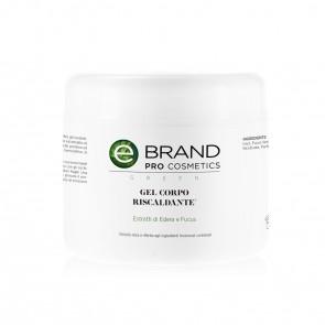 Gel Corpo Caldo Riscaldante (Fucus, Edera), Ebrand Pro Cosmetics, Vaso 500 ml.