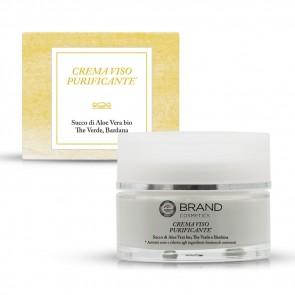 Crema Viso Purificante, Ebrand Cosmetics, Vaso 50 ml