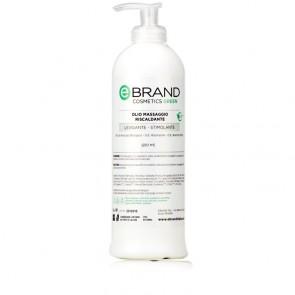 Olio Massaggio Riscaldante - Ebrand Green - Flacone 500 ml