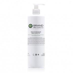 Olio Massaggio Riscaldante, Ebrand Pro Cosmetics, Flacone 500 ml