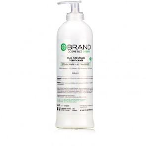 Olio Massaggio Tonificante Ebrand Green - Flacone 500 ml
