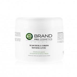 Maschera Corpo Tonificante - Ebrand Green - Vaso 500 ml