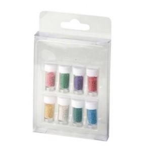 Set Palline Colori - Decorazione Nail Art