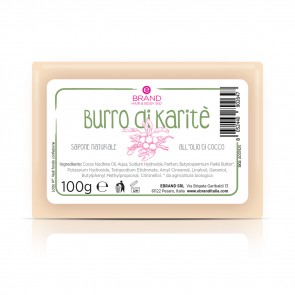 """Sapone Naturale all'Olio di Cocco """"Burro di Karité"""", Ebrand Hair & Body"""