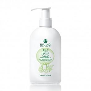 """Shampoo Bio Capelli Normali, Ebrand Hair & Body """"Rito del Te"""" 500 ml"""