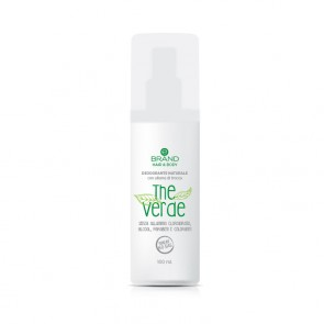 """Deodorante Naturale con Allume di Rocca """"The Verde"""" - Ebrand Hair & Body"""