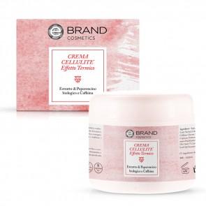 Crema Corpo Cellulite Effetto Termico, Ebrand Cosmetics, Vaso 250 ml