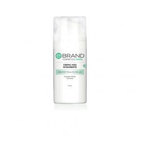 Crema Viso Schiarente/Protettiva Curcuma e Complex White - Ebrand Green - 100 ml