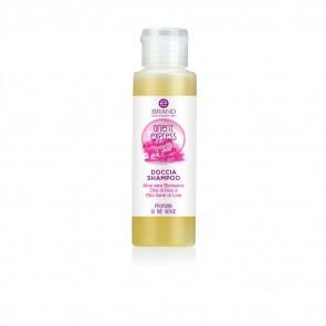 "Doccia Shampoo Bio Lino e Riso, Ebrand Hair & Body ""Orient Express"" 100 ml"