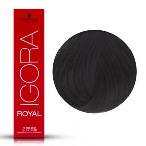 Tinta Capelli Igora Royal 1.0 Colore Professionale Nero 60 ml