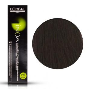 Tinta Capelli Inoa 4 Colore Professionale Castano, L'Oreal, 60 gr
