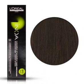 Tinta Capelli Inoa 6 Colore Professionale Biondo Scuro, L'Oreal, 6 gr