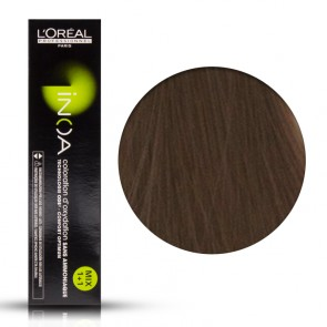 Tinta Capelli Inoa 8 Colore Professionale Biondo Chiaro, L'Oreal, 60 gr