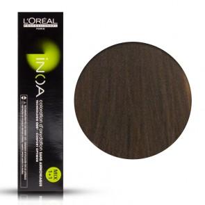 Tinta Capelli Inoa 6.3 Colore Professionale Biondo Scuro Dorato, L'Oreal, 60 gr