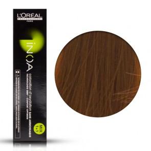 Tinta Capelli Inoa 7.43 Colore Professionale Biondo Rame Dorato, L'Oreal, 60 gr