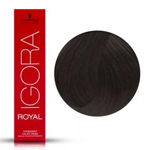 Tinta Capelli Igora Royal 5.00 Colore Professionale Castano Chiaro Extra 60 ml