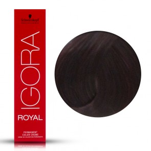 Tinta Capelli Igora Royal 5.99 Colore Professionale Castano Violet Extra 60 ml
