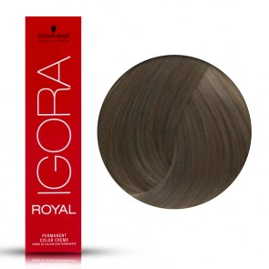 Tinta Capelli Igora Royal 8.1 Colore Professionale Biondo Chiaro Cenere 60 ml