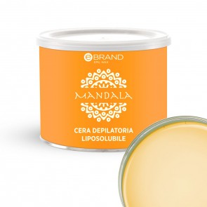 Cera Depilatoria Liposolubile Titanio Curcuma e Zenzero 400ml
