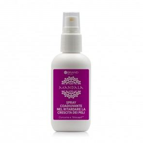 Spray Ritardante Ricrescita Curcuma e Telocapil - Linea Mandala - 100 ml