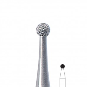 Fresa Manicure a palla diamantata Edenta, misura 1,8 mm, 3 pezzi