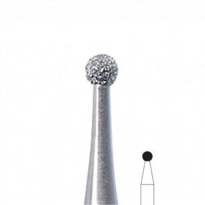 Fresa Manicure a palla diamantata Edenta, misura 2,3 mm, 3 pezzi