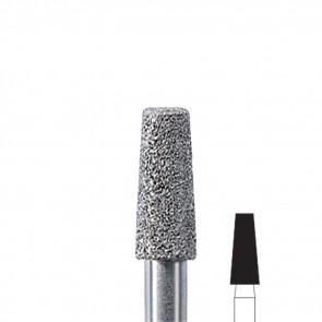 Fresa manicure conica diamantata Edenta Grana Media, diametro 3,3 mm, 3 pezzi