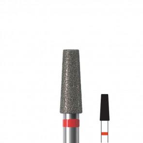 Fresa unghie a tronco di cono diamantata Edenta, diametro 3,3 mm, 3 pezzi