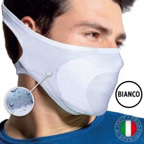 Mascherina Filtrante Lavabile Unisex Taglia Unica - Colore Bianco