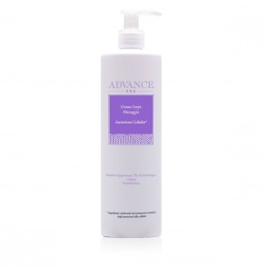 Crema Corpo Massaggio Inestetismi Cellulite - Advance Pro - Flacone 500 ml