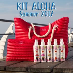 """Kit """"Mare"""" Solari Aloha + Pochette e Borsa - Risparmio da 16 a 41 €"""