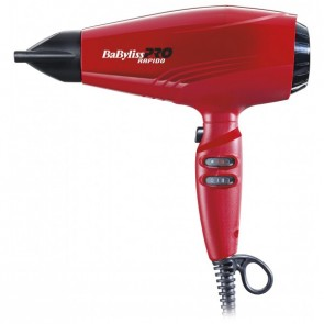 Phon Rapido, Babyliss Brushless Rosso Bab7000Ire