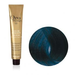 Correttore Capelli Blu Professionale - Color Keratin - Oro Therapy