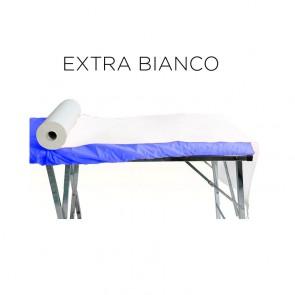 Rotolo Lenzuolino Carta 2 Veli Micro-Incollato - H. 60 Cm. X 70 Mt. - EXTRA BIANCO