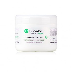 Crema Viso Antiage - Ebrand Cosmetics - Vaso  250 ml