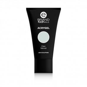 Acrygel Clear Natural, Ebrand Evo Nails, 56 gr