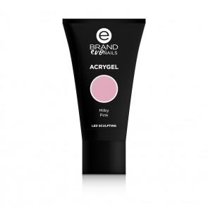 Acrygel Milky Pink, Ebrand Evo Nails, 56 gr