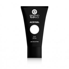 Acrygel Soft White, Ebrand Evo Nails, 56 gr