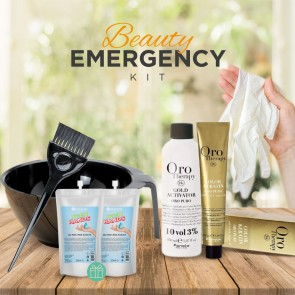 Kit Beauty Emergency CAPELLI ORO Therapy