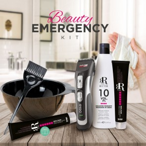 Kit Beauty Emergency CAPELLI RR REAL STAR LUI e LEI