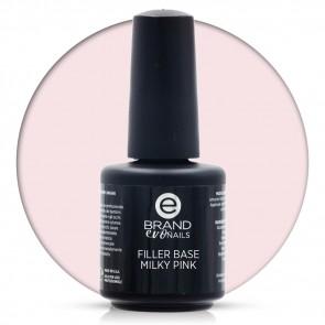 Filler Base Milky Pink, 15 ml, Evo Nails