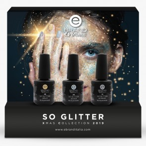 "Collezione Smalti Semipermanenti ""Xmas 2020, So Glitter"" by Evo Nails"